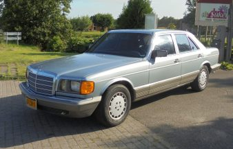 Mercedes W126 300 SD 1984 — SOLD