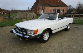 Mercedes W107 450 SL 1974 SOLD