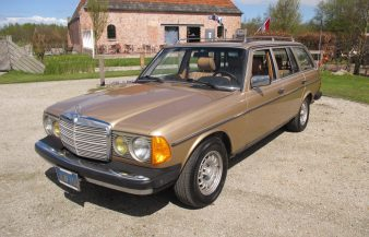 Mercedes W123 300 TDT 1984 — SOLD