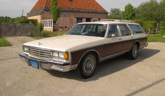 Chevrolet Caprice Estate 1984 SOLD