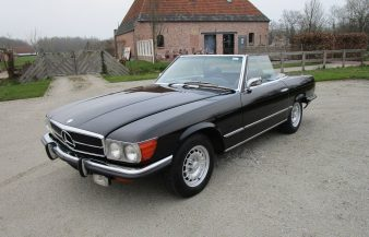 Mercedes W107 350 SL 1973 SOLD