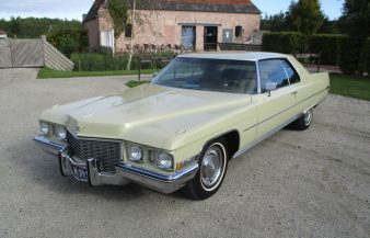 Cadillac Coupe de Ville 1972 SOLD
