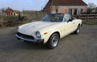 Fiat 124 Spider Convertible 1980 SOLD