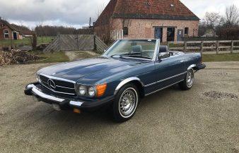 Mercedes W107 380 SL 1982 —SOLD