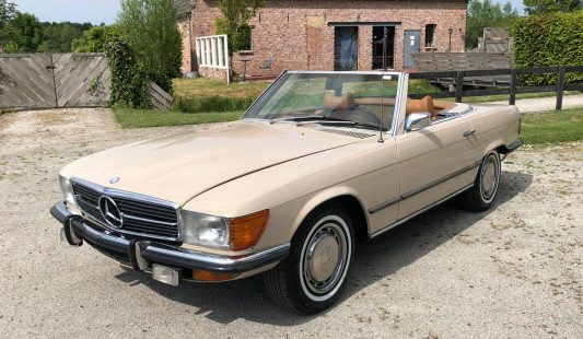 Mercedes W107 350 SL 1972 — SOLD