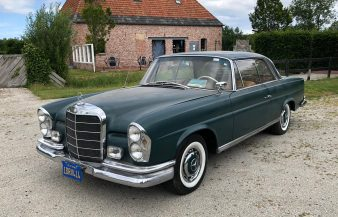 Mercedes W111 220 SEB Coupe 1963 —SOLD