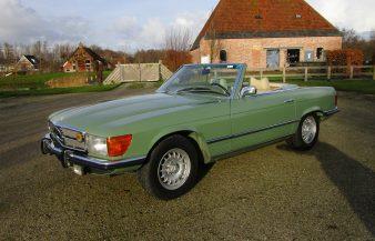 Mercedes W107 450 SL 1973 —SOLD