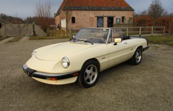 Alfa Romeo Graduate Convertible 1987 —SOLD