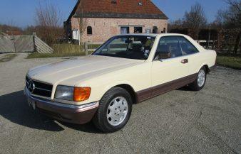 Mercedes W126 500 SEC 1984 SOLD