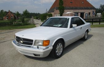 Mercedes W126 560 SEC 1990