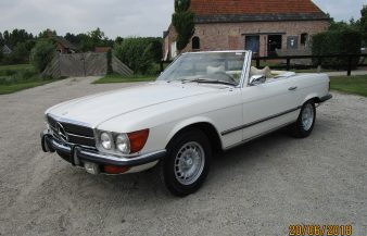 Mercedes W107 450 SL 1973 SOLD