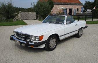 Mercedes W107 560 SL 1988 —SOLD