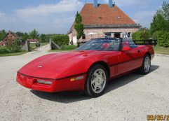 Chevrolet Corvette C4 Convertible 1989