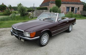 Mercedes W107 350 SL 1972 SOLD