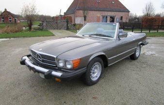 Mercedes W107 380 SL 1981 —SOLD