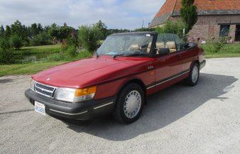 Saab 900 Turbo Convertible 1987 SOLD