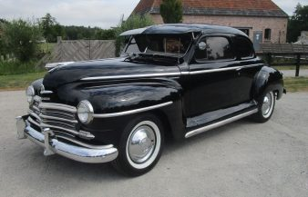 Plymouth Special Deluxe Coupe 1948 — SOLD