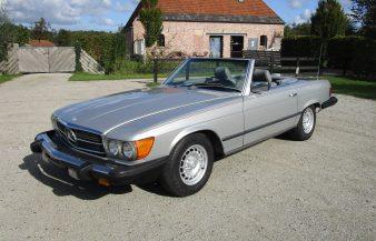Mercedes W107 380 SL 1983 —SOLD