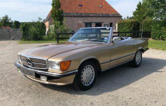 Mercedes W107 280 SL 1984 —SOLD
