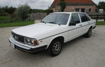 Audi 5000S 1980 — SOLD