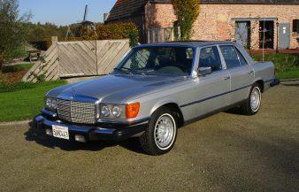 Mercedes W116 280 SE 1978