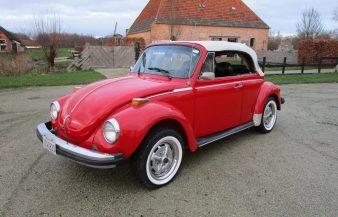 Volkswagen Beetle 1979 Convertible — SOLD