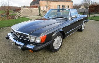 Mercedes W107 380 SL 1984 — SOLD