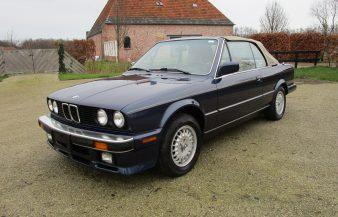BMW 325i (E30) 1987 Cabrio SOLD