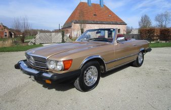 Mercedes W107 380 SL 1985 SOLD