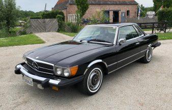 Mercedes W107 450 SLC 1975 — SOLD