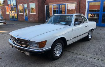 Mercedes W107 500 SL 1984 SOLD