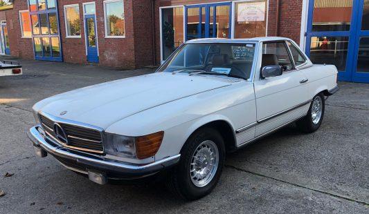 Mercedes W107 500 SL 1984 SOLD