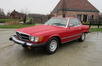 Mercedes W107 450 SL 1977 SOLD