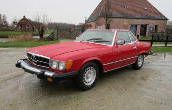 Mercedes W107 450 SL 1977