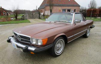 Mercedes W107 450 SL 1977 — SOLD
