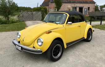 Volkswagen Beetle Convertible 1976 IN OPTION