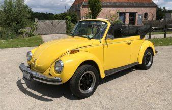 Volkswagen Beetle 1976 Convertible — SOLD