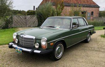Mercedes W115 300 D 1976 — SOLD