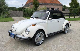 Volkswagen Beetle 1978 Convertible — SOLD