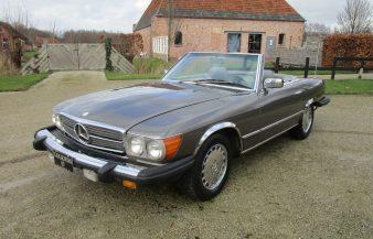 Mercedes W107 380 SL 1982 — SOLD
