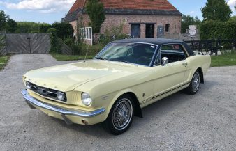 Ford Mustang Coupe 1966 SOLD