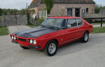 Ford Capri RS recreation 1973