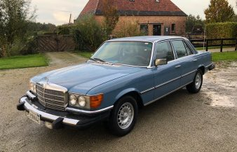 Mercedes W116 300 SD 1979 — SOLD