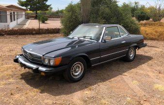 Mercedes W107 380 SL 1984