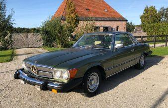 Mercedes W107 380 SLC 1981 — SOLD