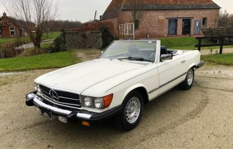 Mercedes W107 380 SL 1984 SOLD