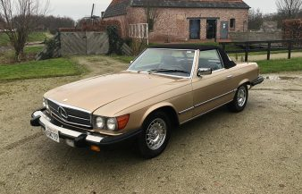 Mercedes W107 380 SL 1983 SOLD