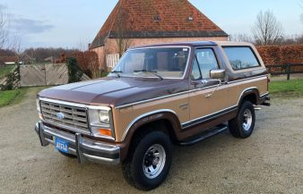 Ford Bronco XLT 1984 SOLD