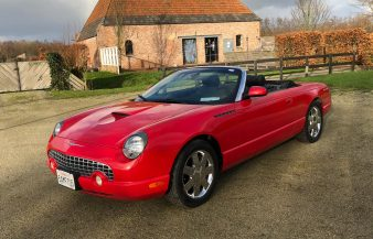 Ford Thunderbird Convertible 2002 SOLD