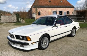 BMW 635 CSi (E24) 1987 SOLD